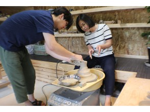 【熊本・熊本市】3点制作!憧れの「電動ろくろ陶芸体験」初心者の方も歓迎!