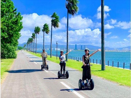 [Fukuoka ・ Fukuoka City] Sea breeze sea Nakamichi beach park Segway Tour (2 hours 30 minutes)の紹介画像