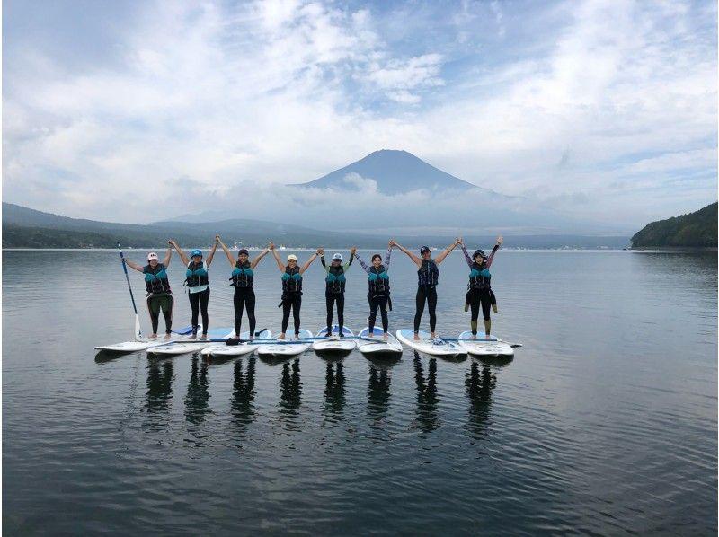 [Yamanashi-Lake Yamanaka]Wakeboarding& Sap planの紹介画像