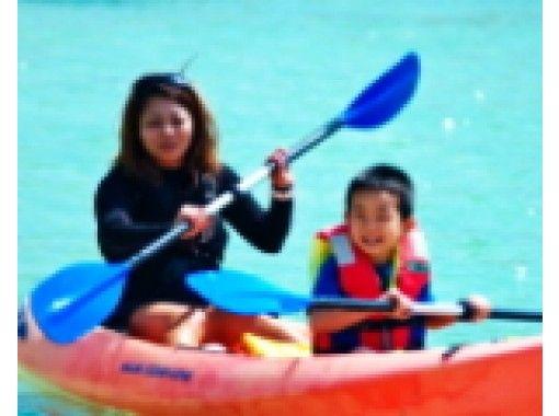 【沖縄・恩納村】6歳~OK!お得なパックメニュー★カヤックツーリング&ドラゴンボート&マリンジェット