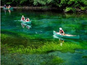 【北海道・支笏湖】支笏湖ブルーカヌー(90分)支笏湖で、家族、恋人、友だちとお気軽に♪