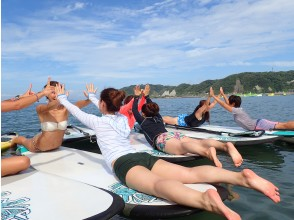 【湘南・逗子】早朝SUP workout SUP&海上でヨガ、ピラティスでワークアウト!