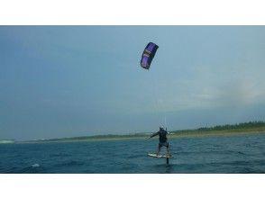 [Fukui-Three countries / Kagosu] for experienced people! Kite board (foil) 1 Sun Experience course