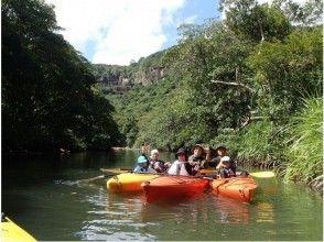 【沖縄・西表島】滝つぼカヌー体験ピナイサーラの滝(半日コース)の画像