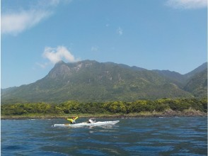 [Kagoshima / Yakushima] Regional common coupon dealers welcome for one person / beginner ♪ Easy Sea kayak experience before returning ♪ (half-day morning course)