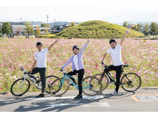 【奈良・斑鳩】自転車で世界遺産めぐり! レンタサイクル2時間プラン♪ クロスバイク