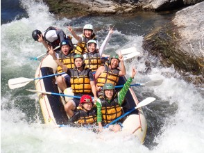 [Kyoto ・ Hozugawa】 A natural roller coaster made by Mother Nature! Rafting Tour (9:00 AM course)