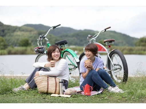 【滋賀・近江八幡】季節ごとに変化する景色を楽しもう♪西の湖サイクリングツアー
