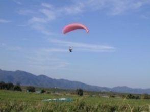 【徳島・吉野川/那賀川】パラグライダー体験フライト/タンデム(2人乗り)の画像