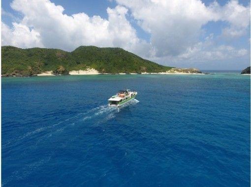 【沖縄・慶良間】クルージング+アクティブ2+シュノーケリング+無人島上陸orホエールウォッチング