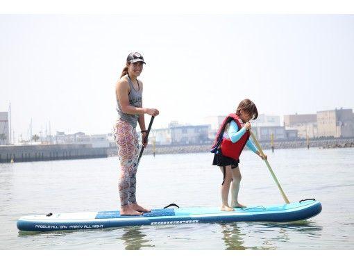 【大阪・二色の浜】初心者大歓迎! 少人数制SUP体験!親子でも楽しめる♪