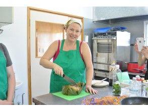 [冲绳护]琉球糕点体验3糕点制作和下午茶时间在内,孩子们可以一起享受!