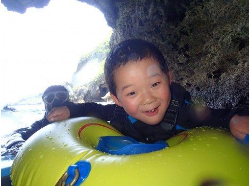 青の洞窟ファミリープライベートコース【3歳~60歳】タオル無料レンタル!記念の水中写真100枚可能!