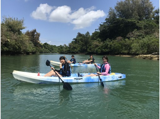 Immediate reservation & request [Yomitan / Hija River] 2 to 3 years old OK! A certified guide will give a polite lecture from beginners! Hija River Mangrove Kayak Tourの紹介画像