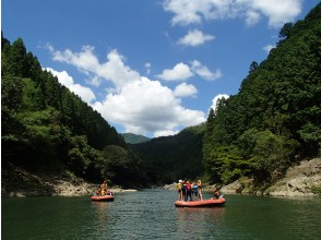 [Kyoto ・ Hozu River] Start in the evening! Rafting Tour (start at 16:00)