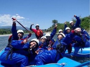 【長野・天竜川】国内最長約23kmのロングコース!ラフティング体験(1日コース)の画像