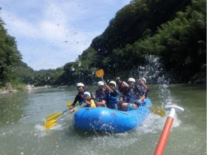 【長野・天竜川】のんびりゆったり派におすすめ!ラフティング体験(ファミリーコース)の画像