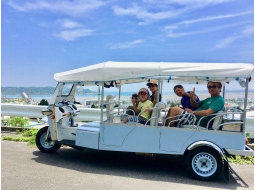 インスタ映え☆海中道路~離島を巡るトゥクトゥク絶景フォトプラン☆ファミリー、カップル、グループ旅行に
