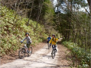 【長野・黒川渓谷】MTB体験(マウンテンバイク)大平宿・鳩打林道コースの画像