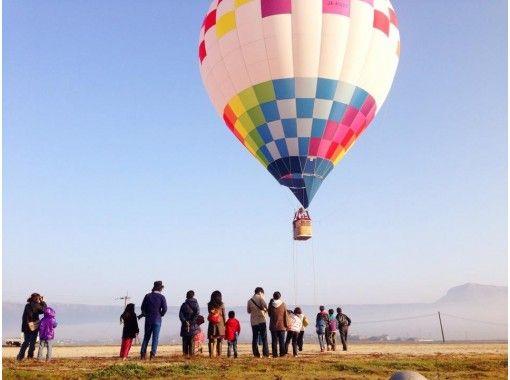 【熊本・阿蘇】くまもっと 朝の絶景を楽しもう!(早朝)熱気球体験・お子さまと一緒に朝の絶景を♪