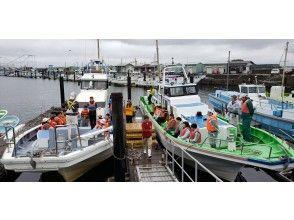 [神奈川·Kanazawa Hakkei]让我们轻松钓鱼半天的竹荚鱼!初级 -女性·欢迎儿童!享受船钓!