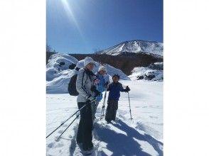 ~大迫力の浅間山を間近に望む大パノラマ~小浅間山登頂スノーシュートレッキング!の画像
