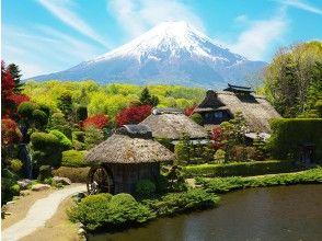 [東京】日本最神聖的土地富士山第5站Meisui Hyakusen Oshino Hakkai河口湖Tenjosan Park Gasoon Tokuto