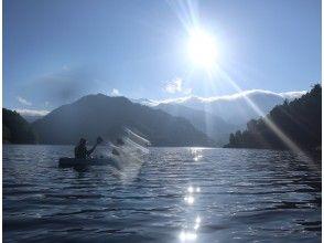 【AJ特典あり】1日の中で最も美しい早朝の湖でカヌーツアー♪*関東・群馬・みなかみ