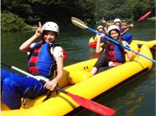 【長野・天竜峡】のんびりゆったりダッキーボート体験!温泉入浴券付き♪