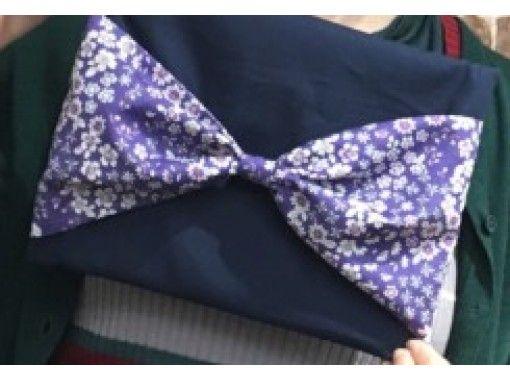 【大阪府・中央区】裁縫のコツも学べる♪大きなりぼんが可愛いクラッチバック手作り体験【23486】