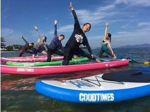 [滋賀-大津·Matsunoura】美麗的水質!在琵琶湖SUP瑜伽體驗課程♪