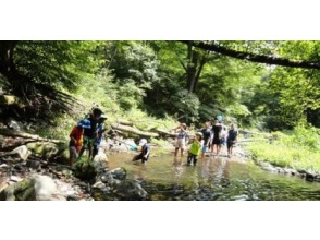 [Nagano Prefecture Asama] - emergency waterfall to ~ River trekking [trekking] of unexplored region