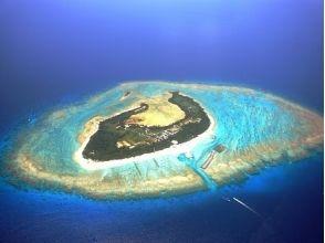【沖縄・水納島】海水浴ボートシュノーケルプランの画像