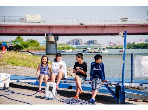 【東京・千葉・江戸川】水圧で空中散歩!フライボード体験!!【手ぶらで】