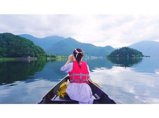 【山梨県・河口湖】早朝カヌー体験・90分コース・コロナでも安心・三密を避けて外遊び!カヌーで湖上散歩&思い出作りの旅の紹介画像
