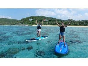 【沖縄・慶良間諸島・座間味島】座間味の海を満喫したいあなたに!SUP&シュノーケルツアー