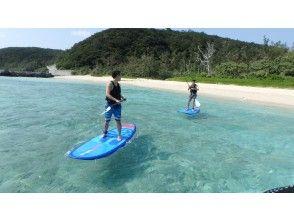 [沖縄-慶良間諸島·座間味島]對於那些想要享受SUP的人!划船之旅
