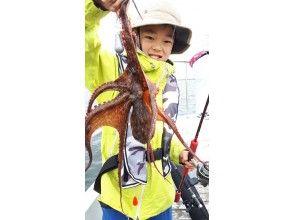 [東京/羽田]章魚飛行馬車初學者,女性,兒童都可以使用♪可以將120分鐘抓到的章魚引入商店♪