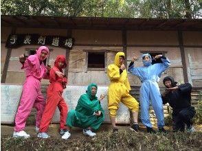 [大阪]奈良Kamika Park父母的愛奈良Deer Koga Ninja Village Ninja Great Body!武士忍者的日常生活