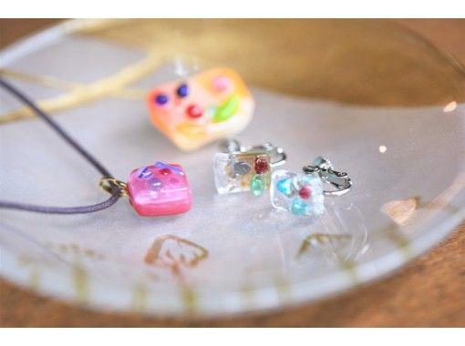 【大阪南堀江なんば駅】2000円で手作りできるキラキラガラスのアクセサリー☆楽しいプチガラス工芸体験