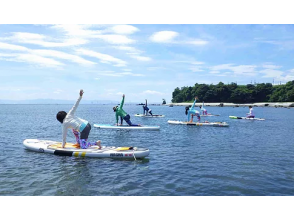 [Itogahama, Hiji Town, Oita Prefecture] Lessons by a certified instructor! Sap yoga