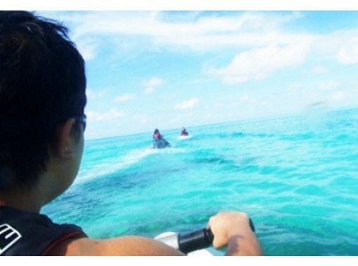 【沖縄・宮古島】ジェットスキーツーリング!島ビーチめぐりツアー(ガイド付き)