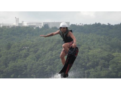 山中湖 話題のホバーボード体験  サーファー・スノーボーダーにおすすめ!