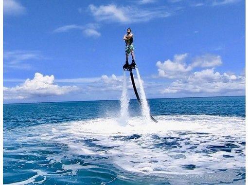 【沖縄・宜野湾】☆大人気のフライボードと6つのマリンスポーツから1つ選べる☆フライボードプラン☆