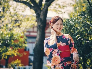 【京都・清水寺】手ぶらで気軽に!着物レンタル・ベーシックプラン(女性限定)