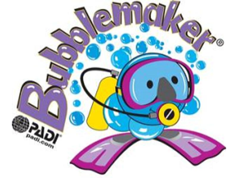 【茨城・水戸】8~9才のお子様のダイビング♪バブルメーカーの紹介画像