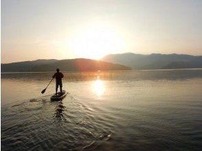 [Living in the morning at Lake Nojiri! ] The best morning start ♪ Morning SUP