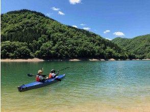 【福井県・九頭竜湖】秋も楽しめる!ゆったり手ぶらで楽しめるカヌー体験&ツアー!4才から参加OK!