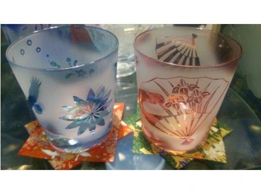 【浅草橋1分】ようこそ日本!オリジナルグラス&折り紙コースター作り(外国人向け、日本の方のみOK)