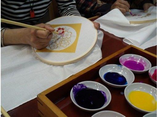 【京都・左京区】京染 手描き友禅体験